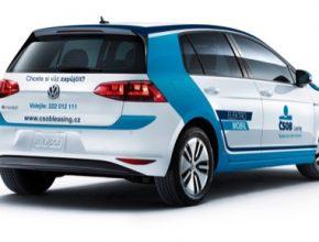 auto elektromobil Volkswagen e-Golf ČSOB Leasing