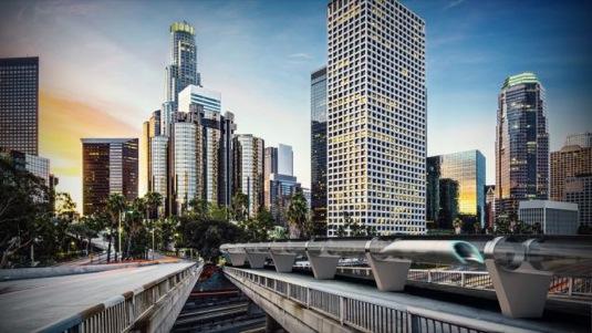 auto Hyperloop Transport Technologies Oerlikon