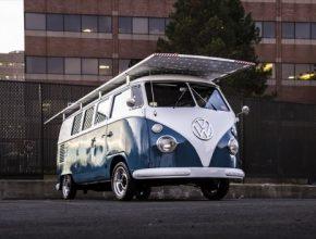 auto Volkswagen Westfalia Bus solární auto pohon