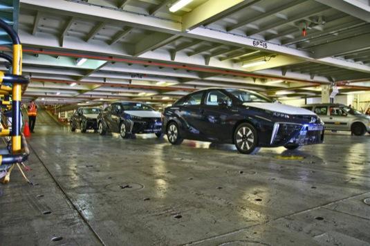 auto na vodík Toyota Mirai Evropa prodej