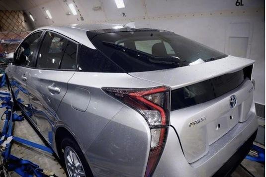 auto Toyota Prius 4. generace hybridní aut