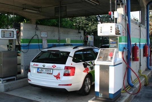 Dovolená s CNG autem: Díl 1. – Cesta na sever Itálie