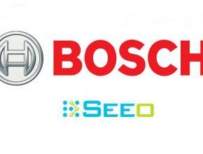 auto Bosch Seeo logo vývoj baterií