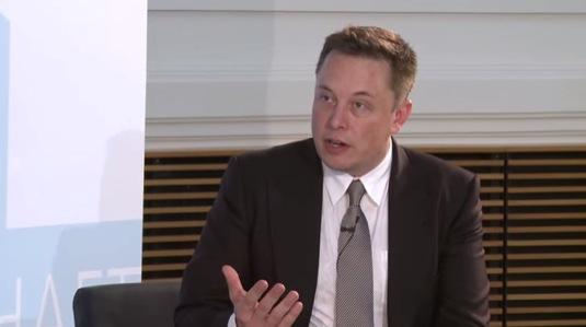 Elon Musk, šéf Tesla Motors