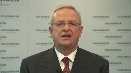 auto Martin Winterkorn šéf koncernu Volkswagen