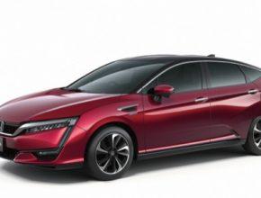 auto autosalon Tokio Honda auto na vodík FCV