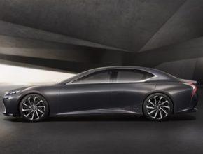 Lexus na autosalonu v Tokiu představil koncept luxusního vodíkového sedanu LF-FC