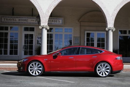 auto elektromobil Tesla Model S automobilky Tesla Motors