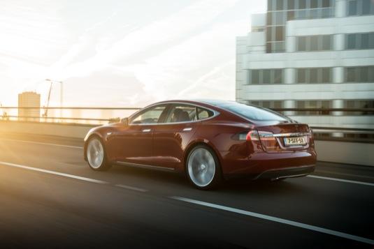 auto elektromobily Tesla Model S Dánsko