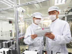 auto továrna LG Chem na výrobu baterií