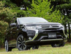 auto elektromobily plug-in hybrid Mitsubishi Outlander PHEV plug-in hybrid