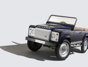 auto šlapací Land Rover Defender auto