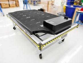 auto baterie elektromobilu Tesla Model S elektroauto