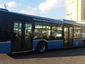 auto brno výstvaviště LNG autobus zkapalněný zemní plyn