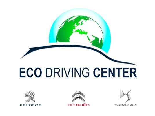 auto Eco driving center centrum šetrné jízdy PSA Peugeot Citroen