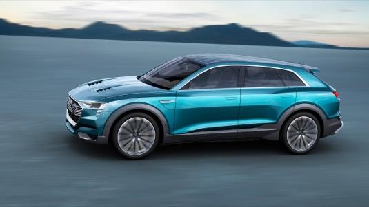 auto koncept Audi e-tron Quattro