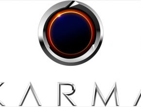 auto Karma Automotive logo detail