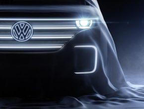 auto koncept elektromobilu Volkswagen