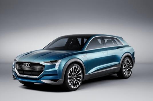 auto Audi Q6 e-tron elektromobil dojezd 500 km SUV