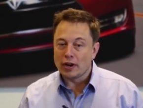 auto Elon Musk, spoluzakladatel Tesla Motors a SpaceX, prezident SolarCity