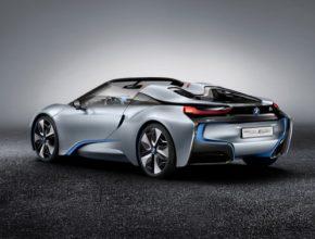 auto BMW i8 Spyder plug-in hybrid