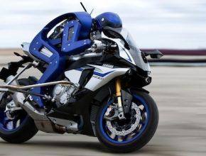 auto robotický motorkář Yamaha Motobot