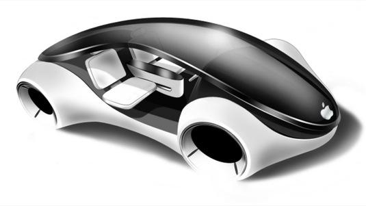 auto elektromobily Apple iCar auto iAuto Car