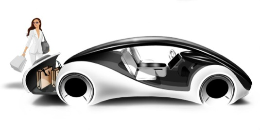 auto elektromobil Apple iCar