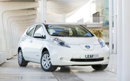 auto elektromobily Nissan Leaf ceny ceník
