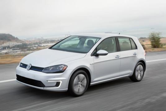 auto elektromobily Volkswagen e-Golf Touch