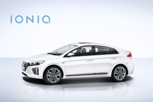 auto Hyundai Ioniq hybrid Jižní Korea představení
