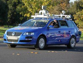 auto testovací robotické auto Volkswagen Stanford University