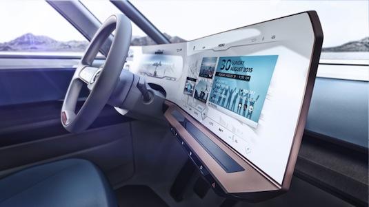 auto elektromobily Volkswagen BUDD-e CES 2016 Las vegas mikrobus