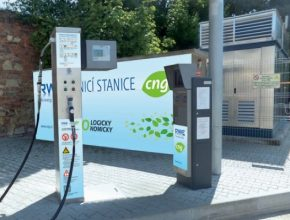 CNG stanice v Terezíně RWE