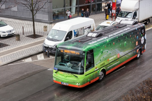 auto elektrobus Praha
