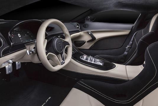 auto autosalon Ženeva 2016 elektromobil Rimac Concept_One