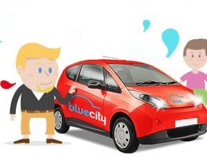 auto BlueCity Bolloré BlueCar elektromobily sdílení aut