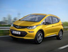auto elektromobil Chevrolet Bolt jako Opel Ampera-E autosalon Paříž 2016