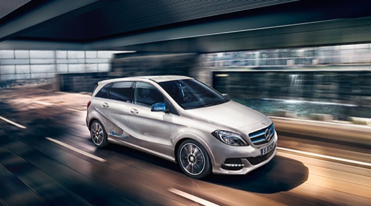 auto elektromobil Mercedes-Benz B ED