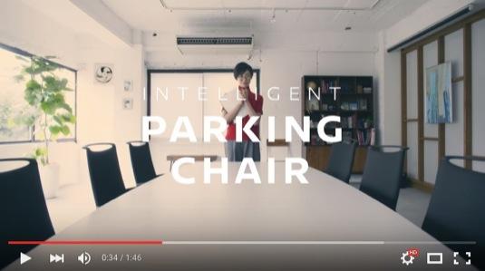 auto inteligentní parkovací židle Nissan