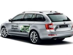 auto na plyn Škoda Octavia G-TEC hlavní cena E.ON Energy Globe Award 2016