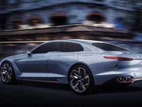 auto Autosalon New York: koncept hybridního sportovního sedanu Genesis