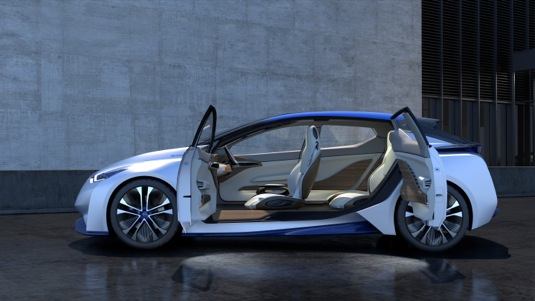 auto autosalon Ženeva 2016 koncept Nissan IDS elektromobil
