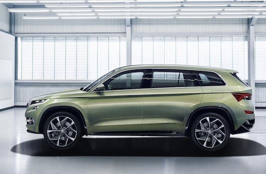 auto autosalon Ženeva 2016 Škoda VisionS plug-in hybrid SUV