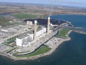 auto Ontario uhelná elektrárna Nanticoke Kanada