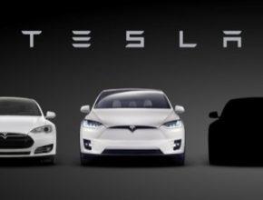 auto elektromobily odhalení Tesla Model 3