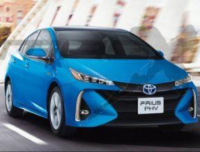 auto nová Toyota Prius plug-in hybrid 2. generace 2016