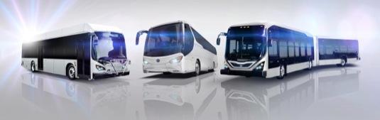auto elektrobusy BYD Čína nová torávna