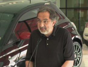 auto Sergio Marchionne šéf Fiat Chrysler Automobiles