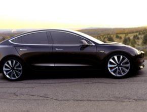auto elektromobil elektroauto Tesla Model 3